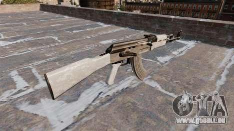 L'AK-47 ACU Camo pour GTA 4 secondes d'écran