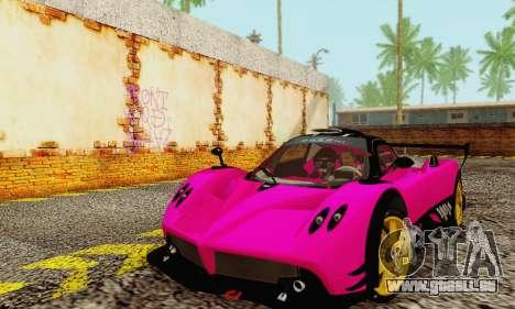 Pagani Zonda Type R Pink pour GTA San Andreas