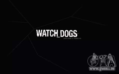 Les écrans de démarrage et de menus Watch Dogs pour GTA San Andreas deuxième écran