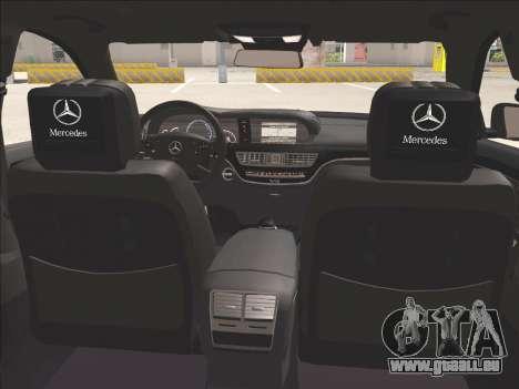 Mercedes-Benz S65 AMG 2012 für GTA San Andreas Seitenansicht