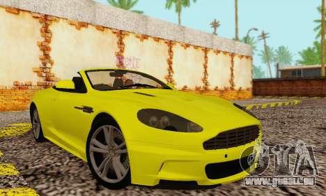 Aston Martin DBS Volante für GTA San Andreas