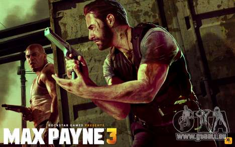 Les écrans de démarrage Max Payne 3 HD pour GTA San Andreas cinquième écran