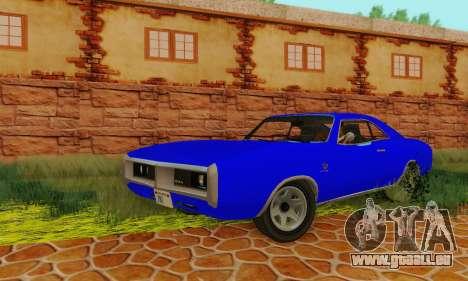 GTA 4 Imponte Dukes V1.0 pour GTA San Andreas vue arrière