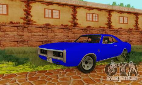 GTA 4 Imponte Dukes V1.0 für GTA San Andreas Rückansicht