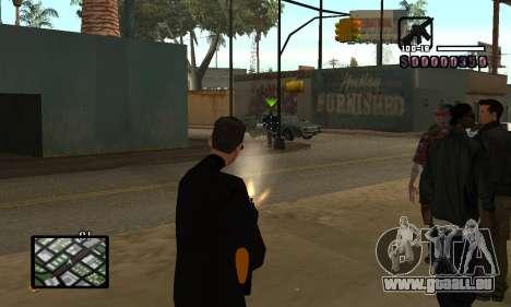 C-HUD by Miller für GTA San Andreas dritten Screenshot