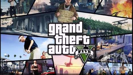 Die loading screens Stil von GTA 5 für GTA San Andreas zweiten Screenshot
