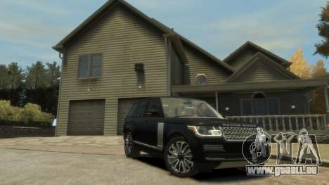 Range Rover Vogue 2014 pour GTA 4