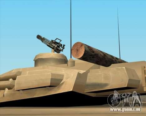Rhino tp.90-125 pour GTA San Andreas sur la vue arrière gauche