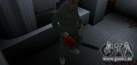 Kettensäge Taiga für GTA Vice City Screenshot her