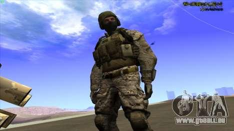 U.S. Navy Seal für GTA San Andreas