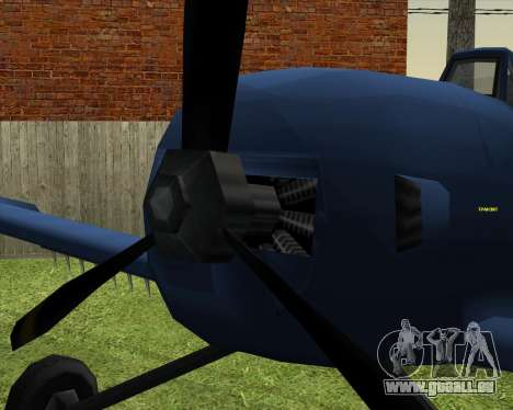CD-38 mod.LP pour GTA San Andreas vue de droite