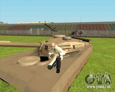 Rhino tp.90-125 pour GTA San Andreas vue arrière