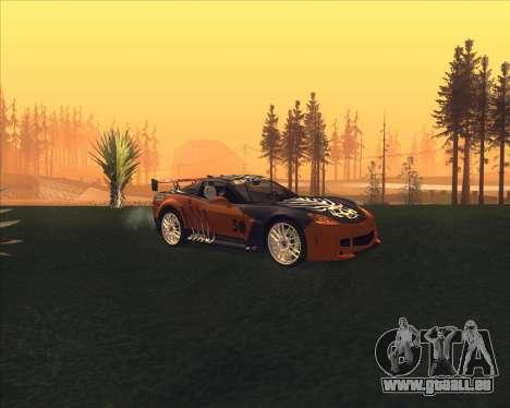 Chevrolet Corvette C6 из NFS MW pour GTA San Andreas