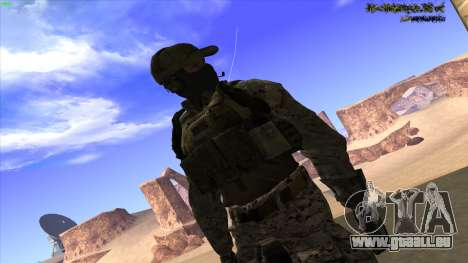 U.S. Navy Seal für GTA San Andreas zehnten Screenshot