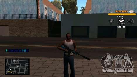 C-HUD Mass Media für GTA San Andreas
