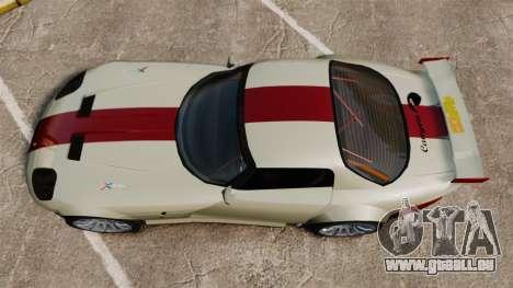 Bravado Banshee GT3 für GTA 4 rechte Ansicht