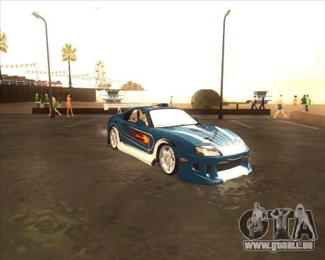 Toyota Supra из NFS most Wanted pour GTA San Andreas