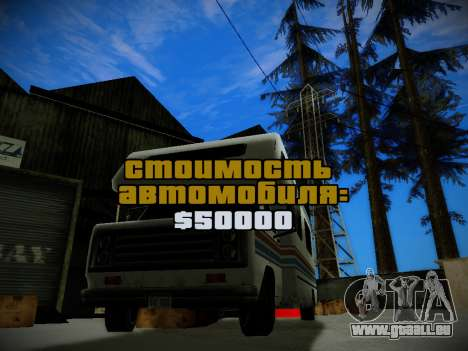 Journey mod by andre500 pour GTA San Andreas troisième écran