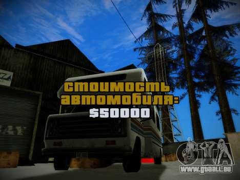 Journey mod: Special Edition pour GTA San Andreas troisième écran