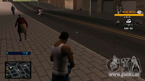 C-HUD Mass Media für GTA San Andreas dritten Screenshot