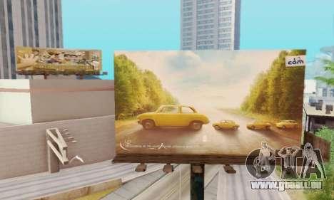 Neue hochwertige Werbung auf Plakaten für GTA San Andreas her Screenshot