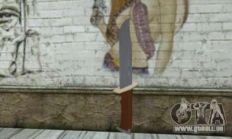 Militaire couteau pour GTA San Andreas