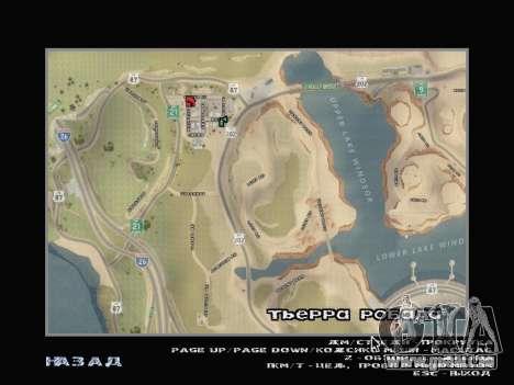 Die neue Karte in HD für GTA San Andreas zweiten Screenshot