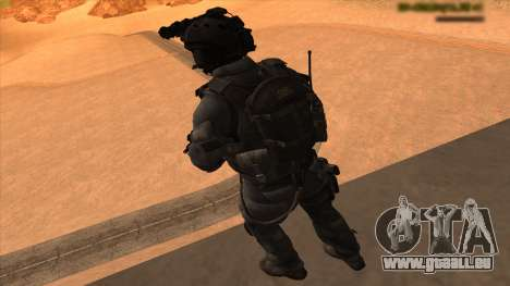 Sgt Keegan P.Russ из Call Of Duty: Geister für GTA San Andreas siebten Screenshot