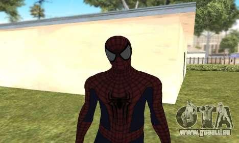 Le nouveau spider-man pour GTA San Andreas