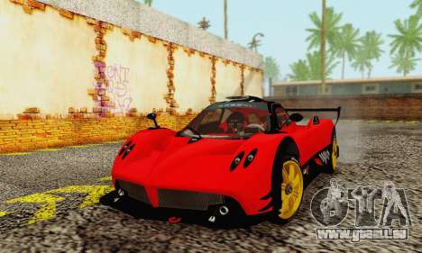 Pagani Zonda Type R Red für GTA San Andreas