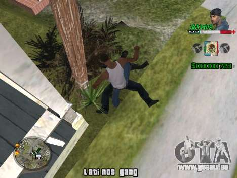 C-HUD Latinos by K.D pour GTA San Andreas