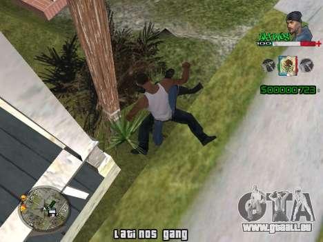 C-HUD Latinos by K.D für GTA San Andreas