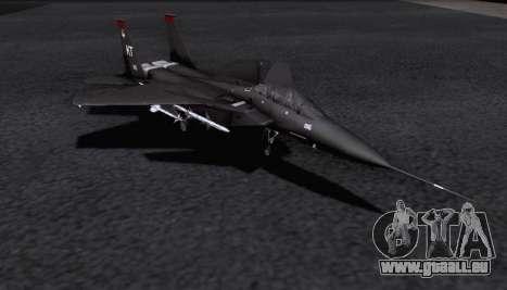 F-15S pour GTA San Andreas sur la vue arrière gauche