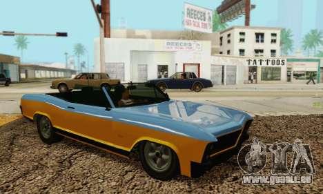 Gta 5 Boucanier mis à jour pour GTA San Andreas vue intérieure