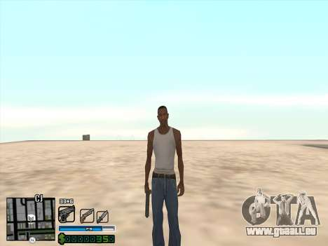 C-HUD by Stafford für GTA San Andreas dritten Screenshot