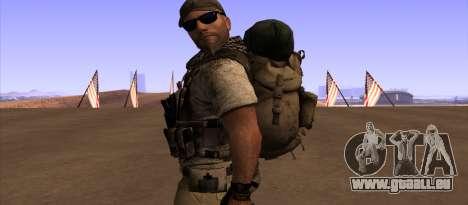 Рюкзак из MOH Warfighter pour GTA San Andreas troisième écran
