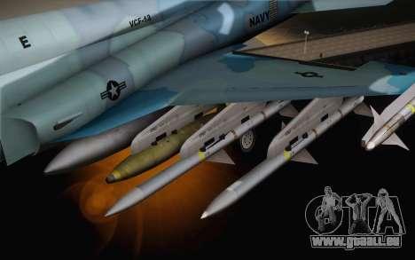 F-5E Tiger II für GTA San Andreas rechten Ansicht
