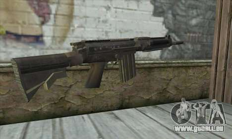SC-2010 из COD: les Fantômes pour GTA San Andreas deuxième écran