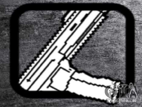 CZ805 pour GTA San Andreas quatrième écran
