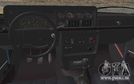 Volvo 242 Stance 1983 pour GTA San Andreas vue arrière