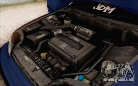 Honda cr-x, Turquie pour GTA San Andreas vue de droite