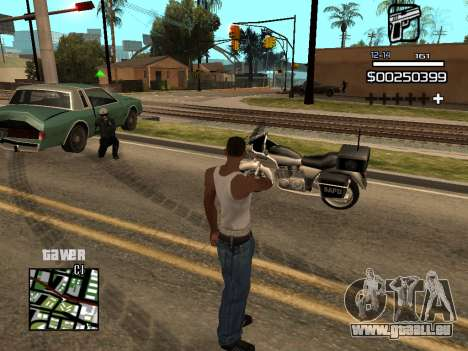 C-HUD By Kapo pour GTA San Andreas cinquième écran