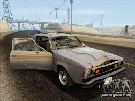 AMC Gremlin X 1973 pour GTA San Andreas vue de côté