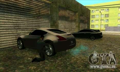 Service de voiture du centre de Sijia à Las Vent pour GTA San Andreas deuxième écran