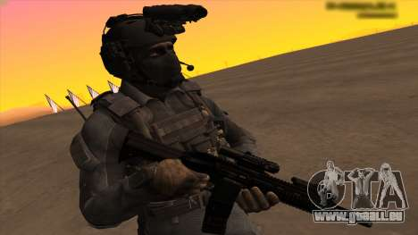 Sgt Keegan P.Russ из Call Of Duty: Geister für GTA San Andreas her Screenshot