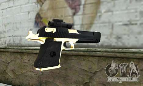Golden Desert Eagle für GTA San Andreas zweiten Screenshot