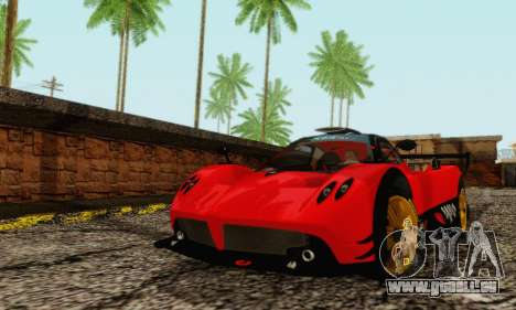 Pagani Zonda Type R Red für GTA San Andreas linke Ansicht