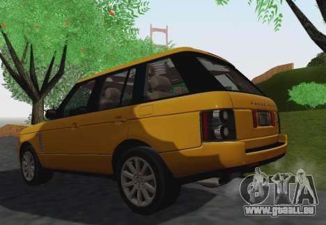 Range Rover Supercharged Series III pour GTA San Andreas vue de côté