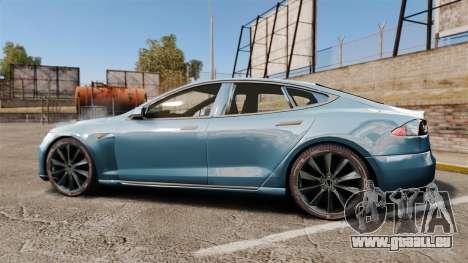 Tesla Model S pour GTA 4 est une gauche