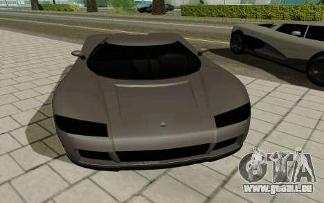GTA 5 Overflod Entity XF für GTA San Andreas zurück linke Ansicht
